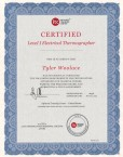 Tyler Woolace Earns Electrical Thermographer Certification